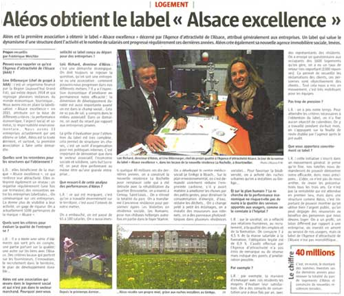 imeos label alsace excellence
